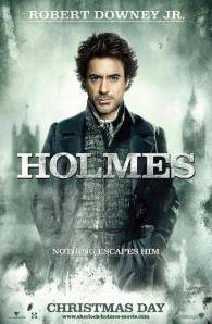 Movie Poster for the Latest Sherlock Holmes