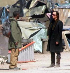 Denzel Washington and Gary Oldman in The Book of Eli