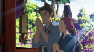Fuse A Gun Girls Detective Story Dousetsu and Hamaji Pray for Success