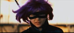 An image of Hit Girl from the film Kick Ass