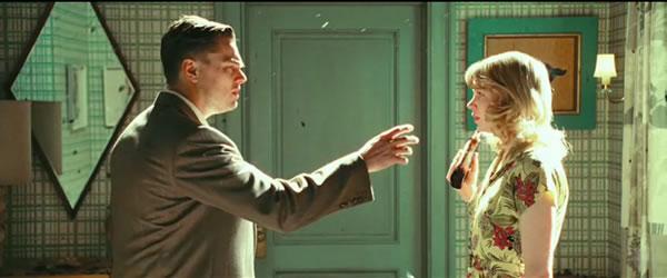 Leonardo DiCaprio and Michelle Williams in Shutter Island