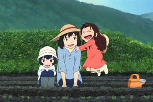 Wolf Children Farming