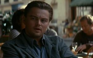 Leonardo DiCaprio as Cobb from Christopher Nolan's Inception, released by Warner Brothers