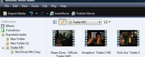 Import Section of Video Editor