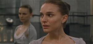 Natalie Portman and Natalie Portman as Nina Sayers in Black Swan