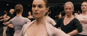 Natalie Portman as Nina Sayers in Black Swan