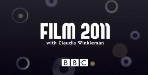 A shot of the title for Film 2011