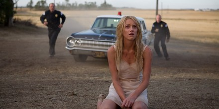Amber Heard in one of the opening scenes from John Carpenter's The Ward.