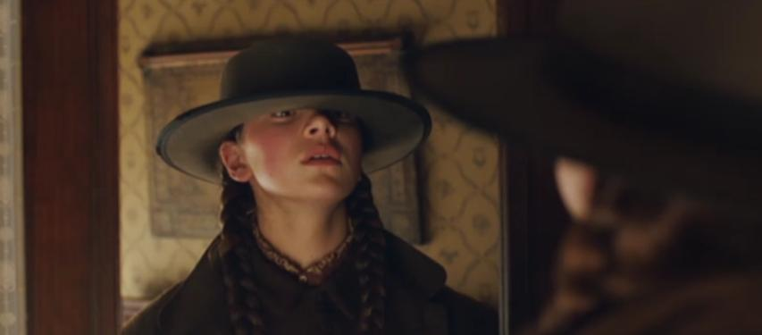 True Grit's Mattie and her Father's Hat