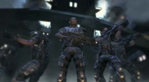 Colonial Marines from the latest Aliens vs. Predator game