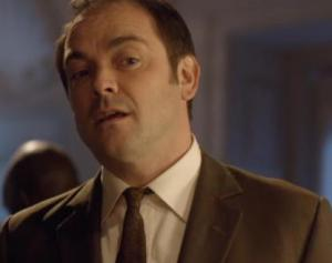 Mark Sheppard as an FBI agent in Doctor Who