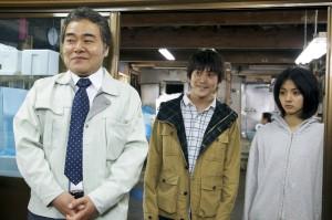 Ryo Iwamatsu as the Uncle, Masashi Endo as Kenichi and Hikari Mitsushima as Sawako