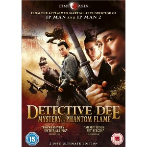Detective Dee DVD Cover