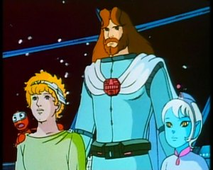 The crew from Ulysses 31