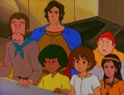 Zia and the Gang in Mysterious Cities of Gold
