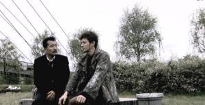 Jo Odagiri and Tatsuya Fuji