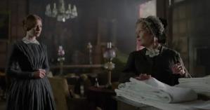 Jane Eyre - Wasikowska and Judi Dench
