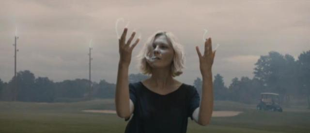 Melancholia Kirsten Dunst is Electric