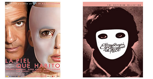 Eyes without a Face/Skin I Live In Poster Comparison