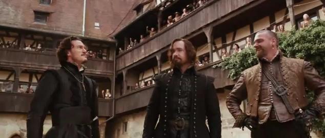 The Three Musketeers - Luke Evans, Matthew Macfadyen and Ray Stevenson