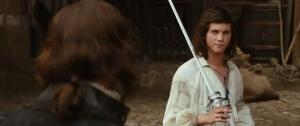 Logan Lerman as D'Artagnan in