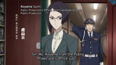 Un-Go Izumi, Prosecutor!