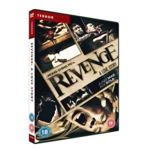 Revenge: A Love Story Terror-Cotta DVD Case