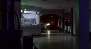 All Quiet in the Spooky Lobby in the J-Horror Film Infection
