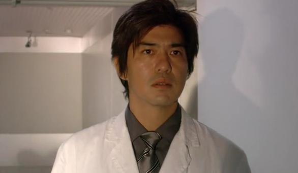 Doctor Akiba (Koichi Sato) in the J-Horror Film Infection