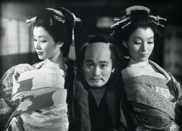 Yoko Minamida, Frankie Sakai and Sachiko Hidari in Bakumatsu Taiyoden