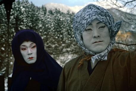 Takamasa and Kiyotsugu Fujima in Unter Schnee