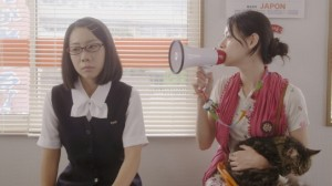 Maho Yamada and Mikako Ichikawa in Rent-a-Neko