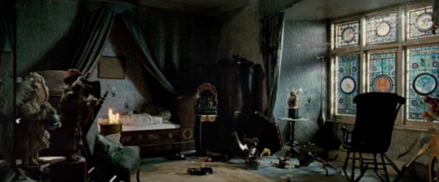 A Cluttered Room in The Woman in Black