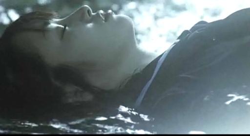 Yuko (Rin Takanashi) at Crime Scene in Goth - Love of Death