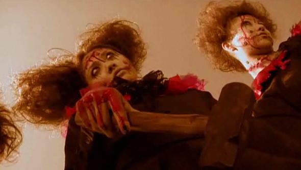 Franken-chicks in Vampire Girl vs Frankenstein Girl