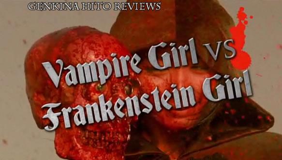 Monami (Yukie Kawamura) in Vampire girl vs Frankenstein Girl