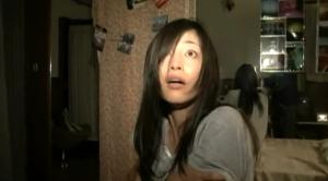 Haruka (Aoyama) in Terror in Paranormal Activity 2 Tokyo Night