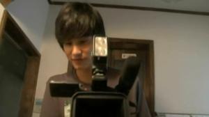Koichi (Nakamura) and his Camera in Paranormal Activity Tokyo Night