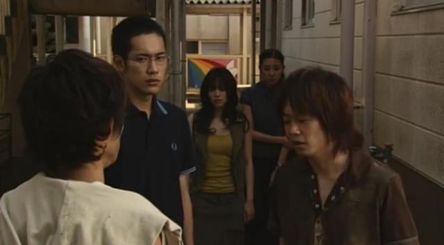 Ken Miyake, Kenichi Matsuyama, Runa Nagai, Ayumi Ito, and Hiroyuki Onoue