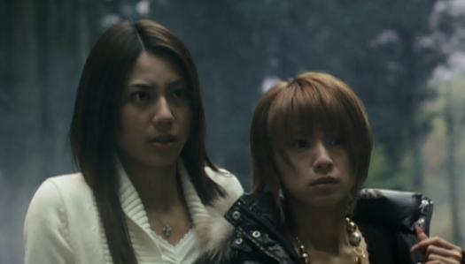 Shiyori (Matsushita) and Aiko (Suzuki) Up Close in X-Cross
