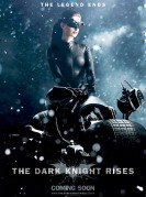 Anne Hathaway Catwoman Poster