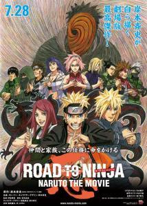 Naruto the Movie Road to Ninja Poster