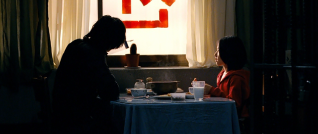 Cha Tae-sik and So-mi Have Dinner in The Man From Nowhere