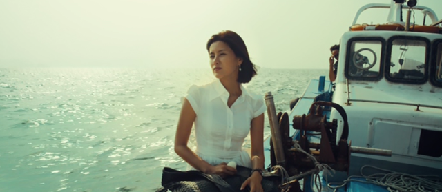 Hye-Won (Ji Sung-Won) Sailing to the Island in Bedevilled