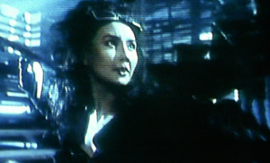 Maggie Cheung in Heroic Trio in Irma Vep