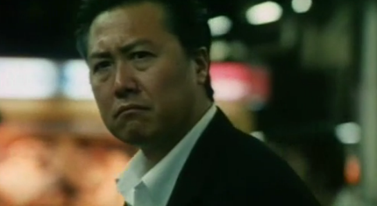 Ryo Ishibashi as Detective Kuroda in Suicide Club