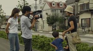 Rie (Morishita) and Yuu (Mizuhashi) Interiewing People in The Suicide Manual Film