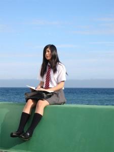 Yuriko Yoshitaka as Yuka in Noriko's Dinner Table