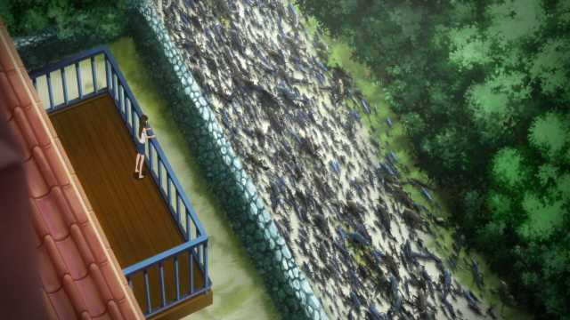 Fish Invasion in Gyo