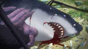 Mecha Shark in Gyo